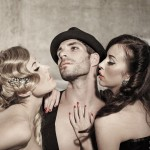 Burlesques Fotoshoting, Fotostudio Köln Deutz